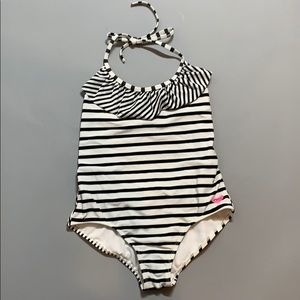 Black and white lightly worn bathing suit